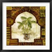 Framed Tropical Palm I