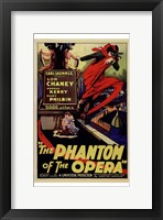 Framed Phantom of the Opera Lon Chaney