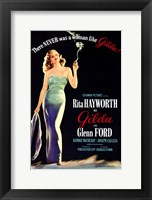 Framed There Was Never a Woman Like Gilda