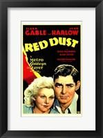 Framed Red Dust