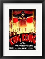 Framed King Kong Tribal