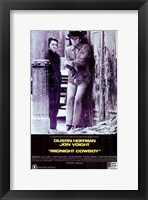 Framed Midnight Cowboy - Dustin Hoffman