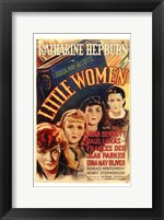 Framed Little Women - faces
