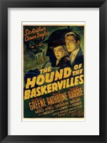 Framed Hound of the Baskervilles Greene Rathborne & Barrie