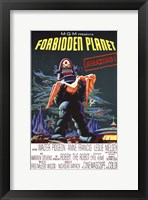 Framed Forbidden Planet - style A