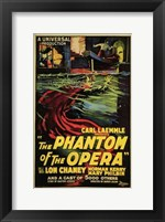 Framed Phantom of the Opera Carl Kaemmle