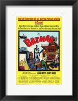 Framed Batman Cartoon