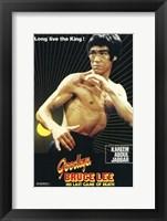 Framed Goodbye Bruce Lee