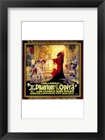 Framed Phantom of the Opera Square