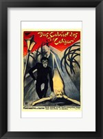 Framed Cabinet of Dr Caligari