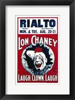 Framed Laugh  Clown  Laugh