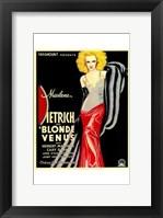 Framed Blonde Venus - woman posed