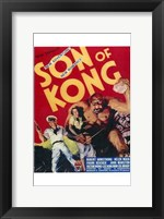 Framed Son of Kong