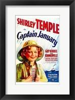 Framed Captain January
