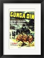 Framed Gunga Din