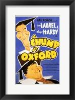 Framed Chump At Oxford  a