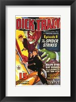 Framed Dick Tracy The Spider Strikes