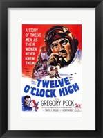 Framed Twelve O'clock High