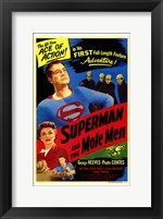 Framed Superman and the Mole Men