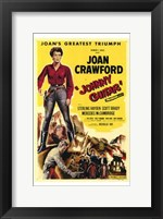 Framed Johnny Guitar