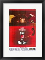 Framed Dial M for Murder