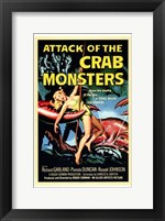 Framed Attack of the Crab Monsters