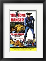 Framed Lone Ranger and the Lost City of Gold  T