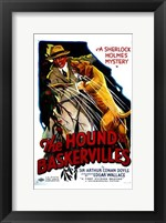 Framed Hound of the Baskervilles Sherlock Holmes