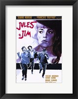 Framed Jules and Jim Oscar Werner
