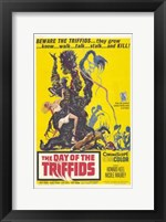 Framed Day of the Triffids