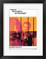 Framed Bullitt Pop Robert Vaughn
