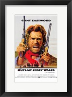 Framed Outlaw Josey Wales
