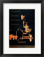 Framed Unforgiven - Clint Eastwood