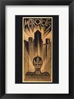 Framed Metropolis Bronze