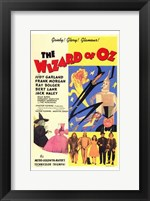 Framed Wizard of Oz Gaiety Glory Glamour