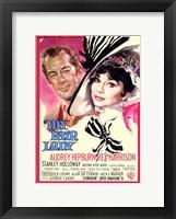 Framed My Fair Lady Audrey Hepburn