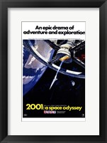 Framed 2001: a Space Odyssey An Epic Drama