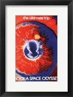 Framed 2001: a Space Odyssey the ultimate trip