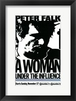 Woman Under the Influence Peter Falk Framed Print