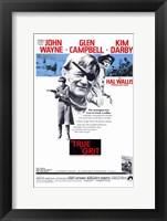 Framed True Grit John Wayne