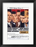 Framed Oceans 11 That Big One