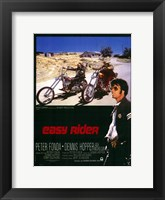 Framed Easy Rider Motorcycle Bikers