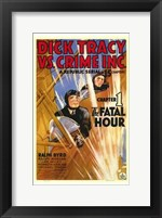 Dick Tracy Vs Crime Inc Chapter 1 Framed Print