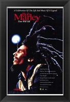 Framed Bob Marley Time Will Tell