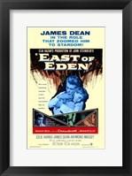 Framed East of Eden James Dean