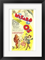 Framed Wizard of Oz Yellow