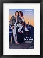 Framed Bull Durham Kevin Costner