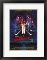 Framed Nightmare on Elm Street 3: Dream Warrior Italian