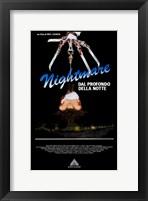 Framed Nightmare on Elm Street  a - knife hand