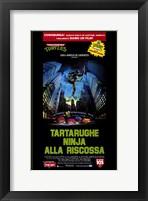 Framed Teenage Mutant Ninja Turtles: the Movie